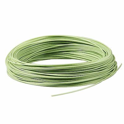 Fly Line WF2/3/4/5/6/7/8/9F Floating Moss Green Fly Fishing Line with 2 Loops