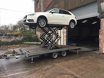 Trailer Lift Mobile Ramp Car Transporter