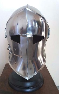 European Sallet Helmet German Closehelm with lock halmat liner free