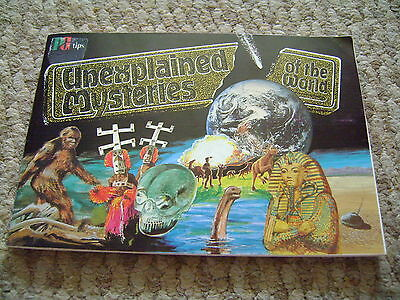 Unexplained Mysteries Of The World Album & Cards By Brooke Bond