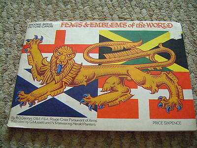 Flags&Emblems of the World Album & Cards By Brooke Bond