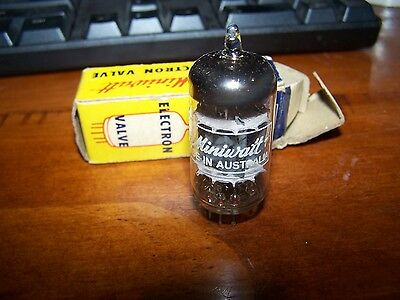 12AU7A Miniwatt and AWV NOS Vintage Aussie made tubes