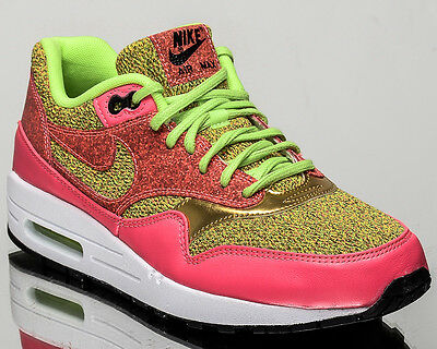 new styles 1be53 47247 Nike WMNS Air Max 1 SE women lifestyle casual sneakers NEW green 881101-300