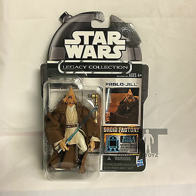 Star Wars Legacy Collection Droid Factory Cancelled Pablo Jill Jedi MOC