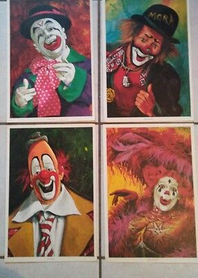 4 Ringling Bros  Barnum Bailey's clown pictures