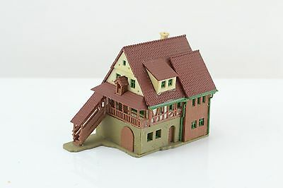 Vollmer Half Timbered House / Building - Built Up Z Scale (Z4)