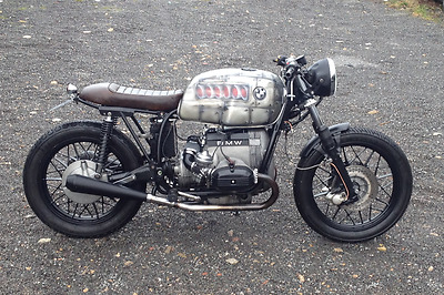 BMW R100 cafe racer 1981 custom finished motorcycle
