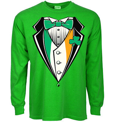 8968ceddd Funny St Patrick's day t-shirt tuxedo design for men patty's paddy's day tee