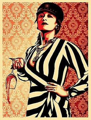 Shepard Fairey These Parties RARE  Obey Giant, 2010