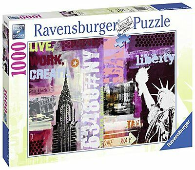 Ravensburger - 19613 - Puzzle New York City Collage - 1000 pièces