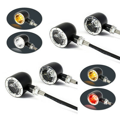 4 x Integrated LED Motorbike Indicators with Driving Lights & Stop Tail Lights