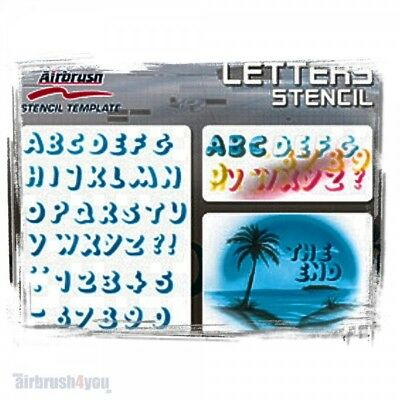 Letters - Harder & Steenbeck Schablone 410124