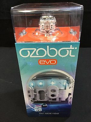 Ozobot Evo the Smart and Social Robot Toy - Crystal White