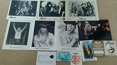 Poison/Bret Michaels collection