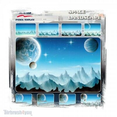 Space Landscape - Harder & Steenbeck Schablone 410140