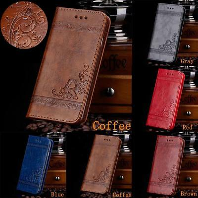 Luxury Leather Card Wallet Magnetic Flip Stand Case Cover for iPhone7 &7 Plus
