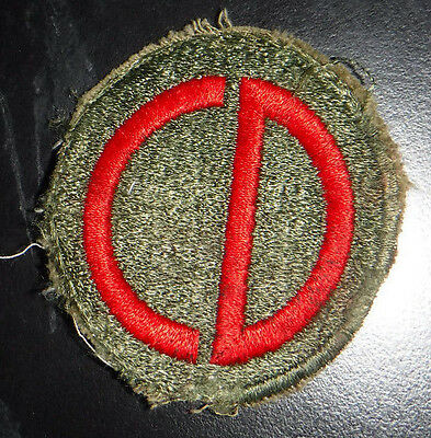 WW2 US Army 85th Infantry Division Military Patch Very Old