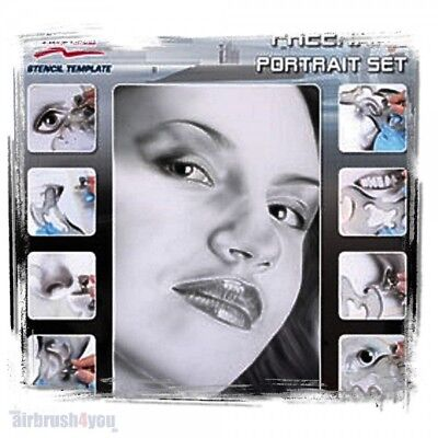 Freehand Portrait Set - Harder & Steenbeck Schablone 410161