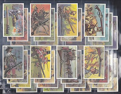 Wills Modern Issue - Embassy, World Of Firearms, Set Of 36 Issued In 1982.