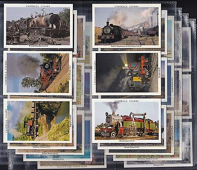 Wills Castella Issue, In Search Of Steam, Set Of 30 Issued In 1992.