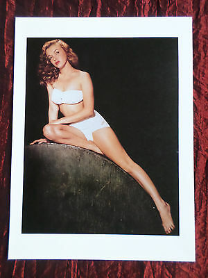 "Marilyn Monroe - Film Star - 1 Page Picture -"" Clipping / Cutting""-#35"
