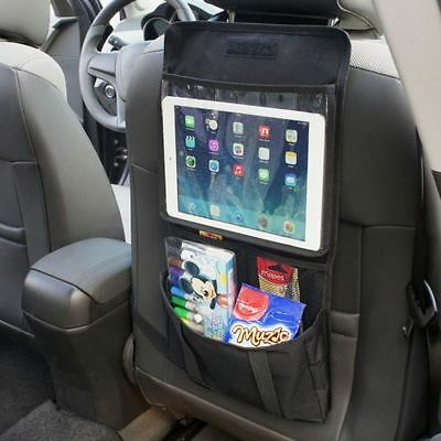 Back Seat Tablet Holder Organiser Car Passenger Storage Pockets iPad Headrest