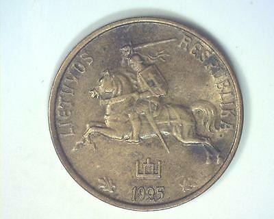 Lithuania 1925 Centas Km71 Extremely Fine ~103