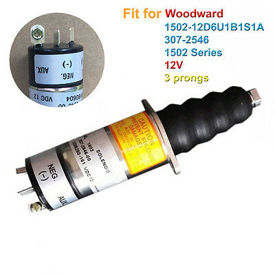1502 Series Fuel Shutdown Solenoid Valve 1502-12D6U1B1S1A for WOODWARD 307-2546