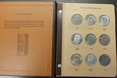 32 PIECE EISENHOWER DOLLAR Full set including Proof-Only issues 1971-1978
