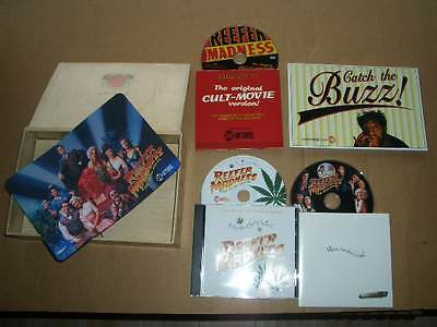 2005 Reefer Madness The Movie Musical TV Press Kit, Soundtrack, 2 DVDs-RARE!