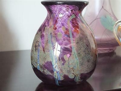 Martin Evans Glory Art Glass Vase