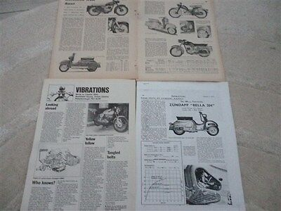 Zundapp scooters and bikes technical & historical articles-now 10 items!