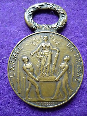 Medal From The 1904 Paris Military Exhibition