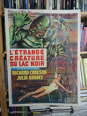CREATURE FROM THE BLACK LAGOON/RICHARD CARLSON /ME15/  FFRENCH poster