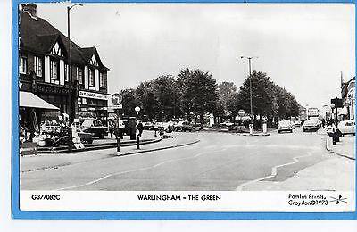 Warlingham Surrey  The Green- Rp  Publ By Pamlin Prints-  Posted 1975