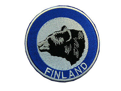 Patch Finnish National Police Special Intervention Unit KARHU tonda color