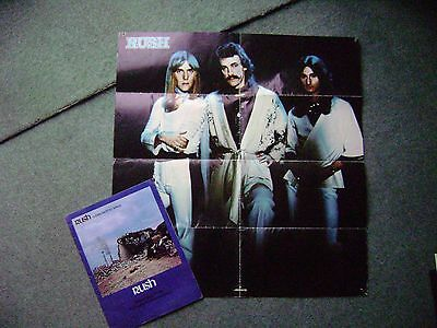 rare 1978, rush programme with poster