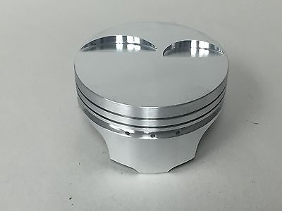 "Ross Flat Top Pistons LS2 4.005"" Bore, 4.00"" Stroke, with Pins and Rings, Set/8"