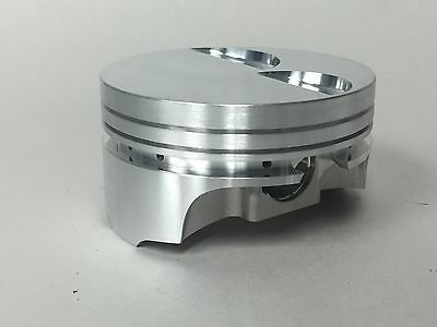 "Ross Flat Top Pistons LS2 4.010"" Bore, 4.00"" Stroke, with Pins and Rings, Set/8"