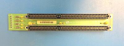 BAK738 slimline 2slot ISA backplane, solder connections for power (see photos)