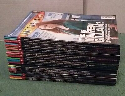 Doctor Who Magazine issues 383, 392-424 (34 issues)