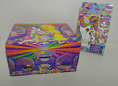 Lisa Frank Colour by Number boxed set & Rainbow Matinee stationary box w/ stuff