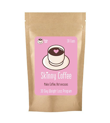The Skinny Caffe 30 Day Instant Coffee Weight Loss Drink