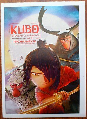 KUBO AND THE TWO STRINGS Photo Card, Mini Poster