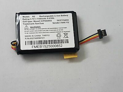 New TomTom GO 60 Replacement Battery Model no:VFAS