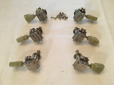 2002 Gibson Deluxe Kluson-Style Tuners Tuning Pegs Tulips Vintage Green