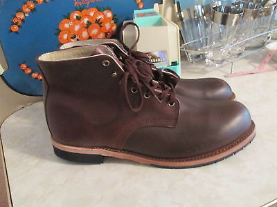 469219653ce THOROGOOD 1892 BROWN Leather Boots Us Men's 12 Msrp $ 295.00