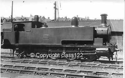 B&W photo Barry Rly/GWR class 'H' 0-8-2T No.1385