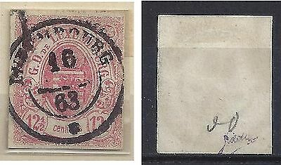 LUXEMBOURG 7 Used  Signed Cancel LUXEMBOURG