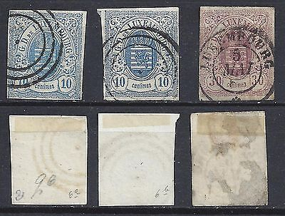 LUXEMBOURG 6 -6a - 9 Used